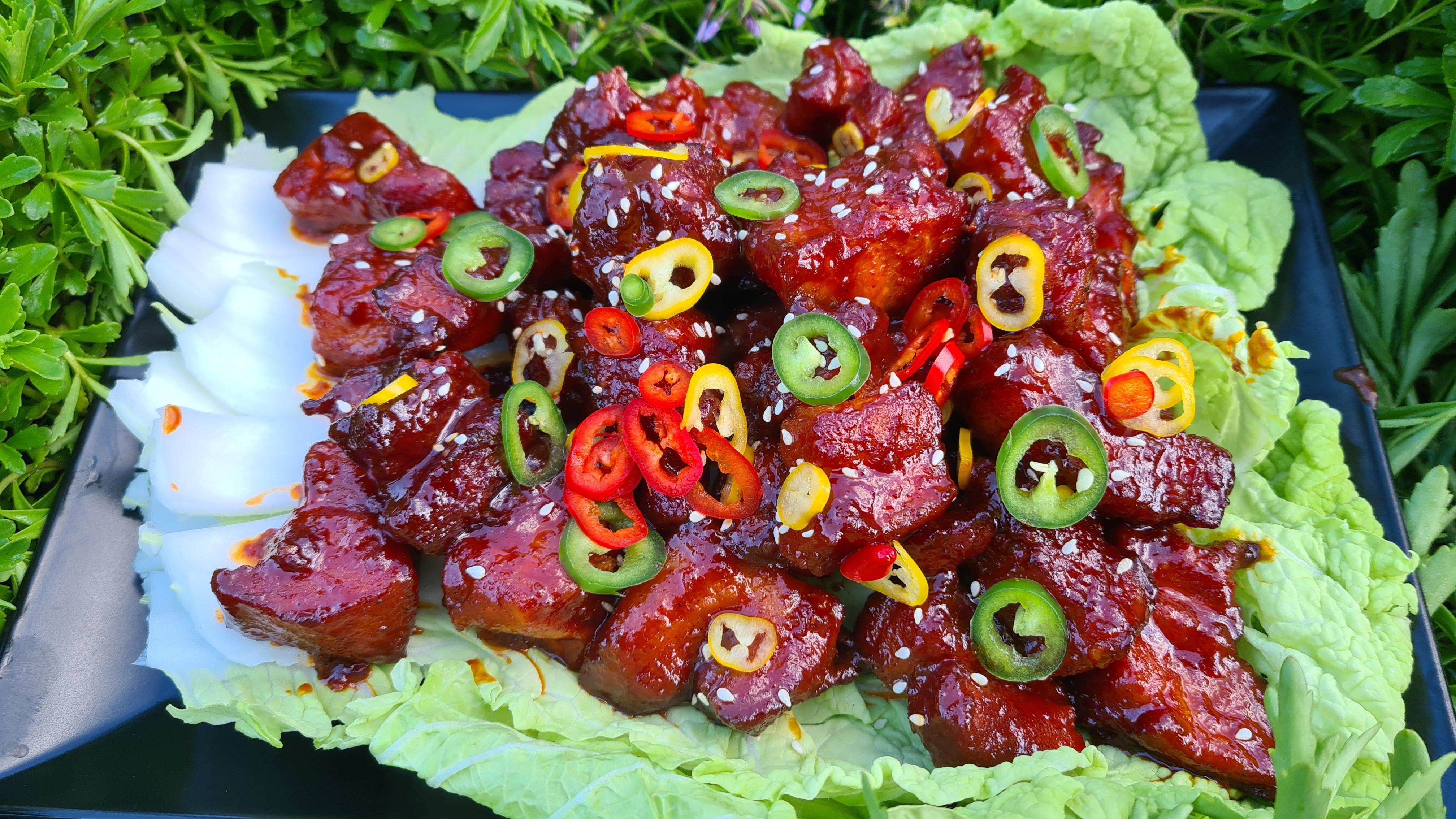 Pork Belly Burnd Ends Asia