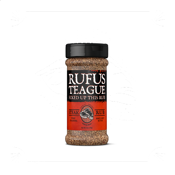 RUFUS TEAGUE STEAK RUB, 175 g