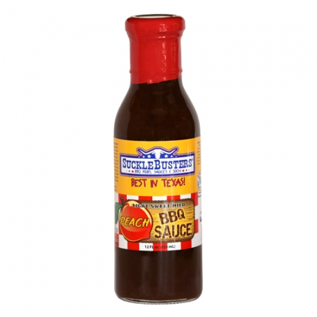 SuckleBusters Peach BBQ Sauce 354ml