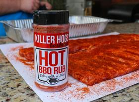 "KILLER HOGS ""THE HOT BBQ RUB"", 363G"
