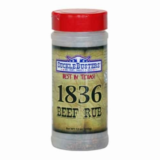 SuckleBusters 1836 Beef Rub 340 g