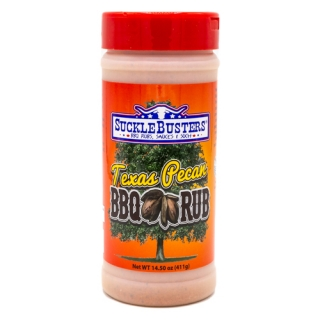 SuckleBusters Texas Pecan BBQ Rub 411 g